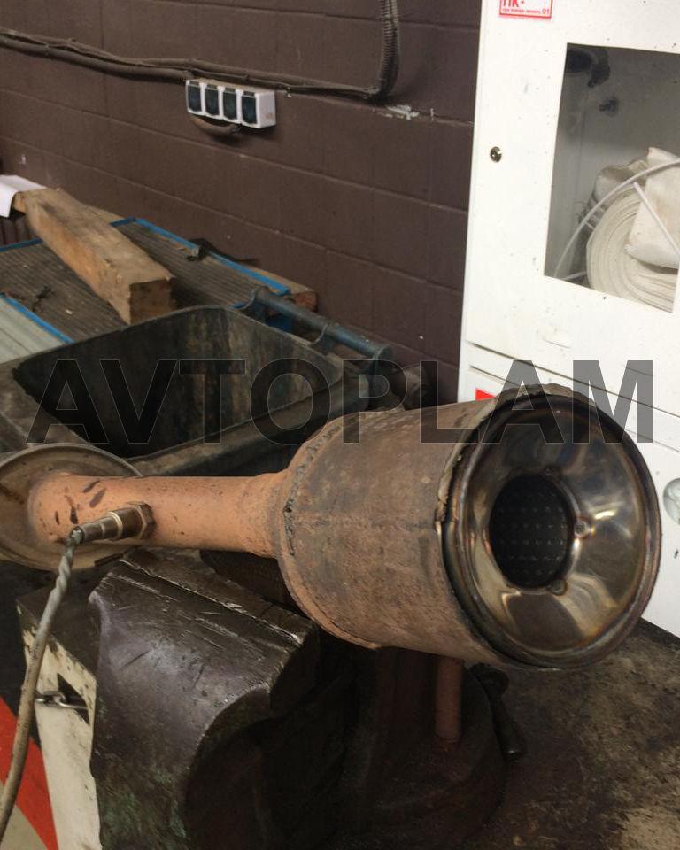 рено дастер 2,0 установка пламегасителя